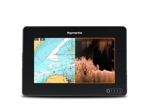 "Raymarine E7036402NSD|Axiom 7RV|7""MFD Display|3D 600W Sonar|Marine Nav+ Chart Thumbnail 4"