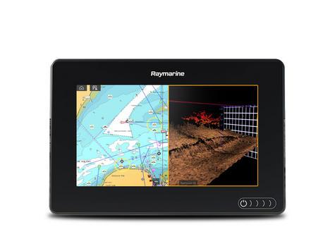 "Raymarine E7036402NSD|Axiom 7RV|7""MFD Display|3D 600W Sonar|Marine Nav+ Chart Thumbnail 5"