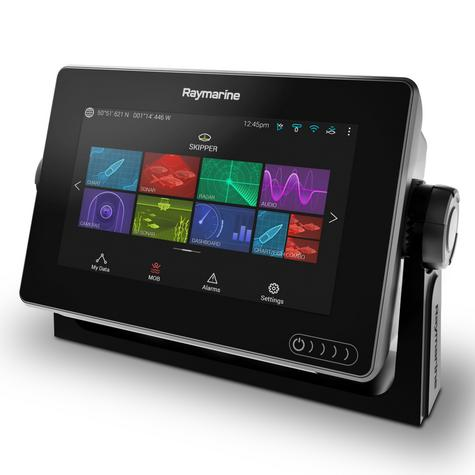"Raymarine E70364|Axiom-7 DownVision MFD-7"" LCD|600W Sonar|CHIRP/GPS/GLONASS|IPX6/7 Thumbnail 2"