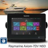 "Raymarine E7036400NSD|Axiom-7DV DownVision MFD-7"" LCD|Navionics/600W Sonar/Small Charts"