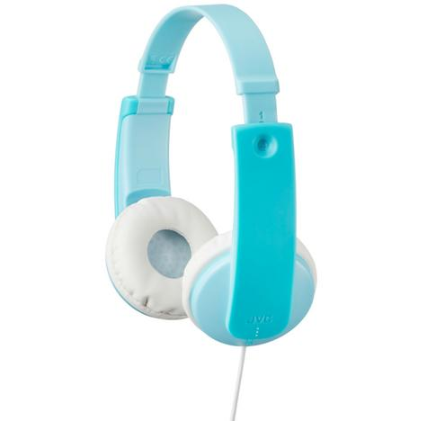 JVC HAKD7Z Tiny Phones Kids Stereo Headphones With Adjustable Headband - Mint Thumbnail 1
