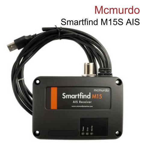 Mcmurdo 21300002A|Smartfind M15S AIS Receiver & Splitter|Dual-Channel|Class A&B|NMEA 0183 Thumbnail 1