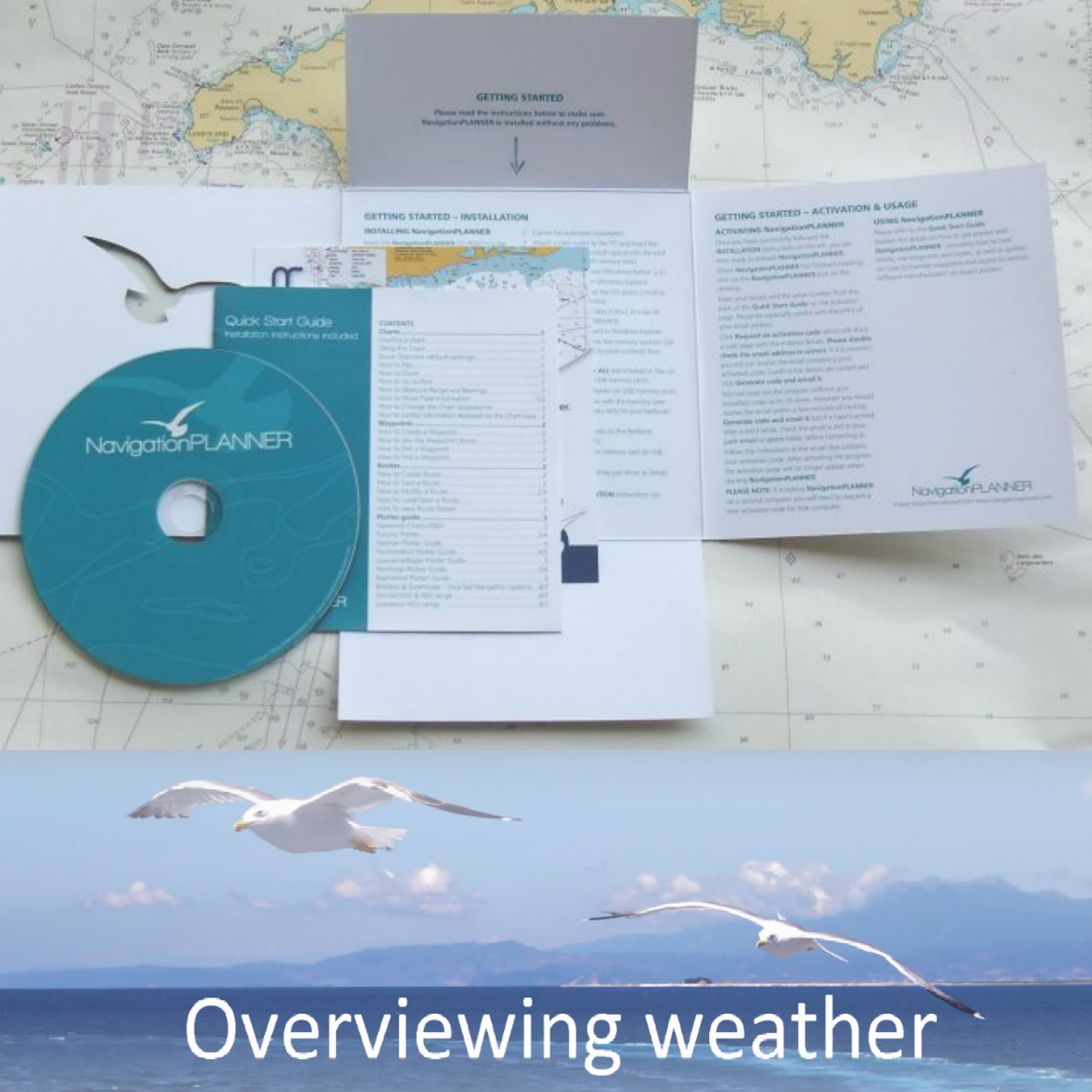 Navionics NAVPLANNER 7|PC Navigation Charts&Program|Routes/Weather-Forecast|Licence 3 PC