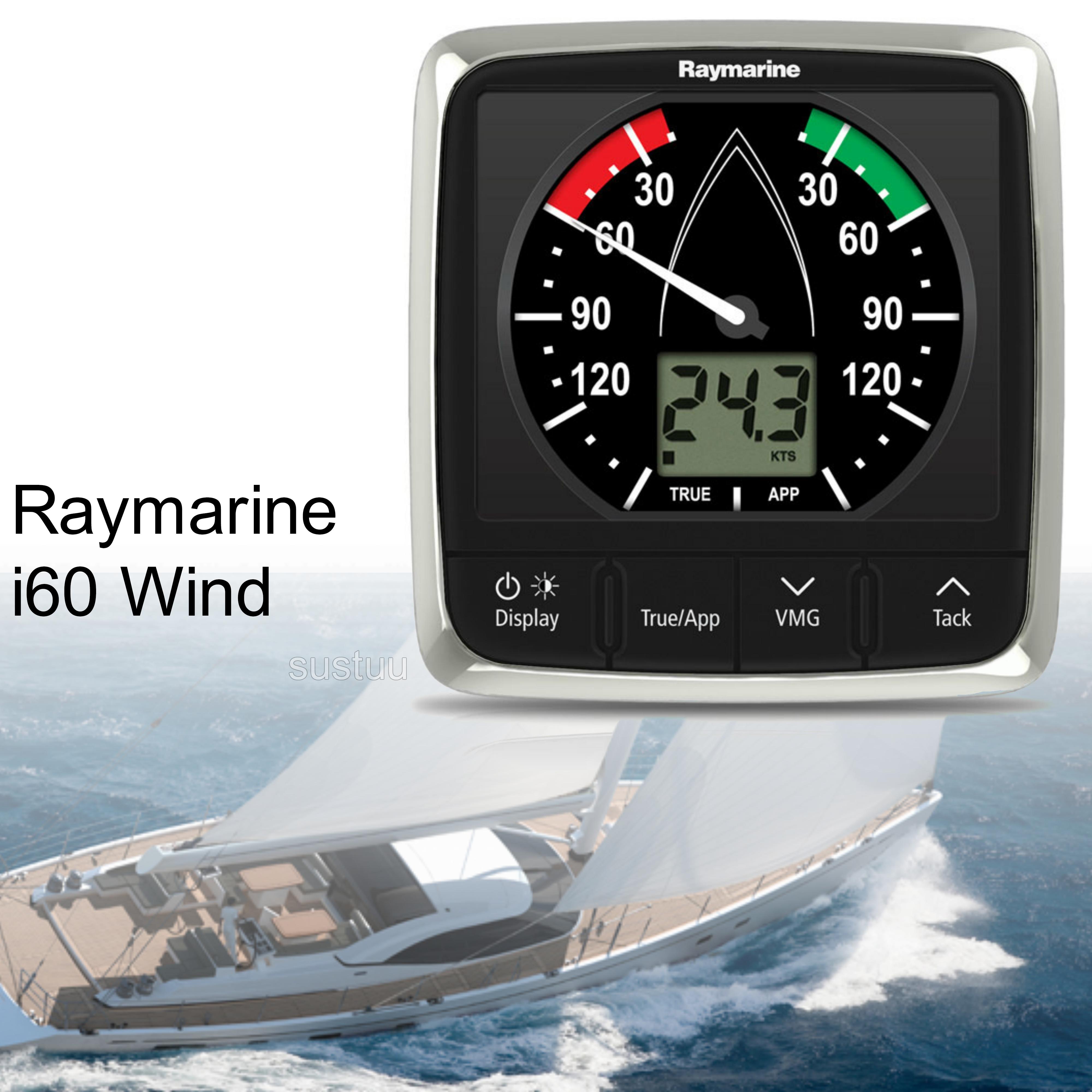 Raymarine E70061|i60 Wind Instrument Display|Analogue & Digital|SeaTalk|For Sailboaters