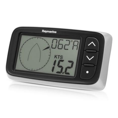 Raymarine E70144|i40 Wind Instument Display & Z195 RotaVecta Transducer Pack|For Yachts & Ribs Thumbnail 4