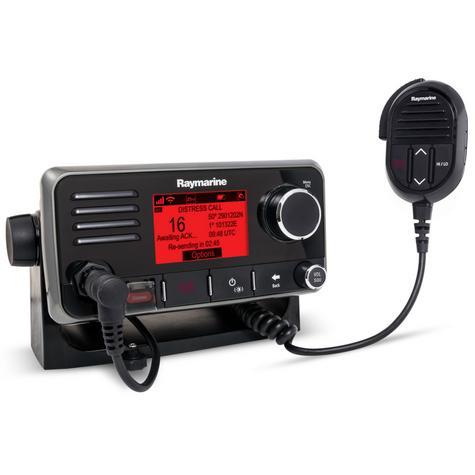 Raymarine E70251|Ray50 Marine Multifunction VHF Radio|AIS|GPS|30W-Loudhailer|Intercom Thumbnail 3