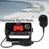 Raymarine E70251|Ray50 Marine Multifunction VHF Radio|AIS|GPS|30W-Loudhailer|Intercom
