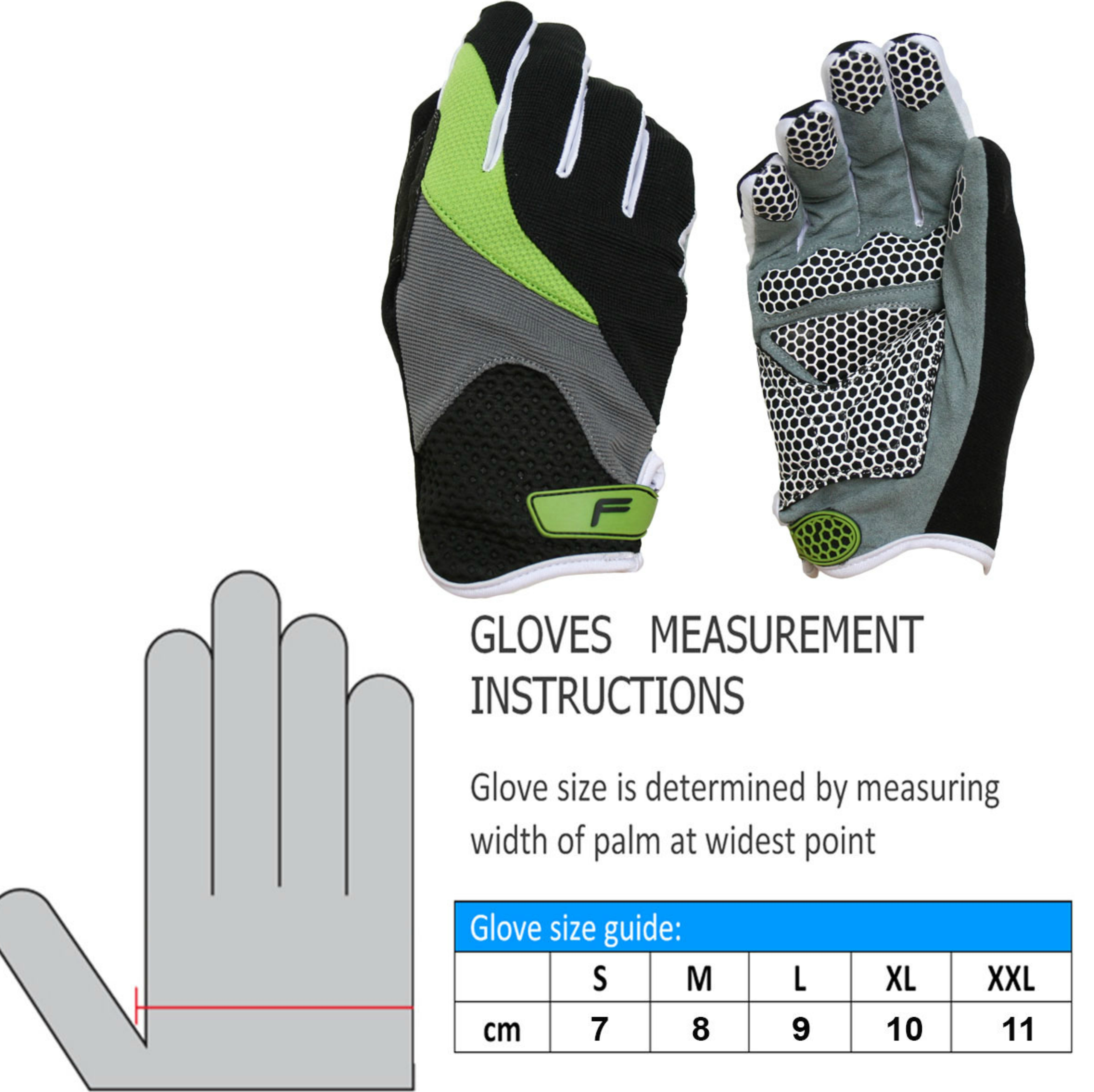 F-Lite Zenmaster Fullfinger Bike Gloves?Silicone Print?Soft Textile?Flexible