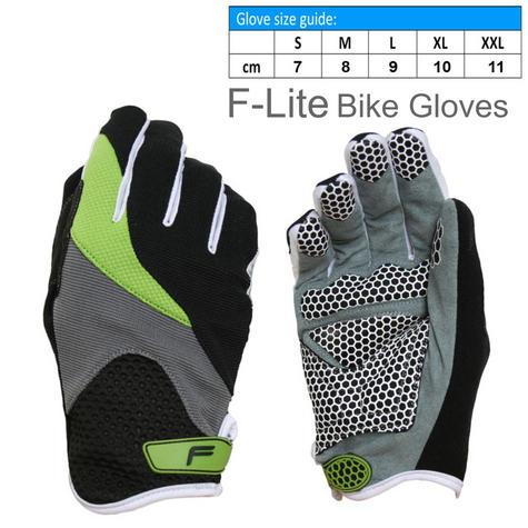 F-Lite Zenmaster Fullfinger Bike Gloves?Silicone Print?Soft Textile?Flexible Thumbnail 1