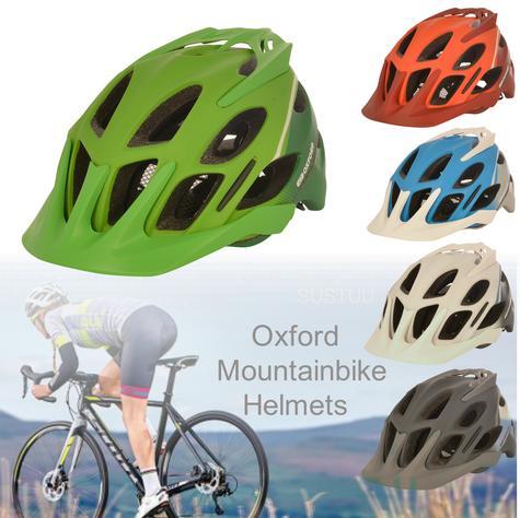 Oxford Tucano Mountainbike Helmets|20 Vents|3 Position Headlock|Multi Color Thumbnail 1