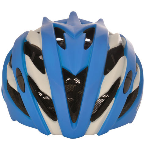 Oxford Raven Road Helmets|Mold Shell|32 Vents|3 Position Headlock|Matt Blue Thumbnail 2