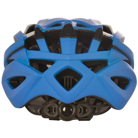 Oxford Raven Road Helmets|Mold Shell|32 Vents|3 Position Headlock|Matt Blue Thumbnail 3