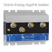 Victron Energy 100-2 Argo FET Battery Isolator|2 Batteries-100A|M8 Bolts|Use Marine & Boats