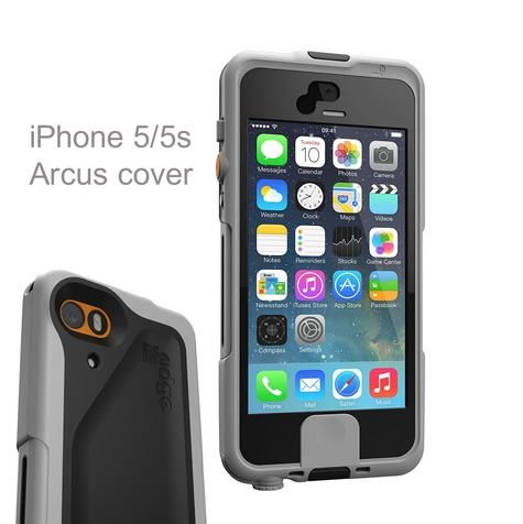 Lifedge Waterproof Case for iPhone 5 & 5s Protect Water Dust Impact Arcus-Black Thumbnail 1