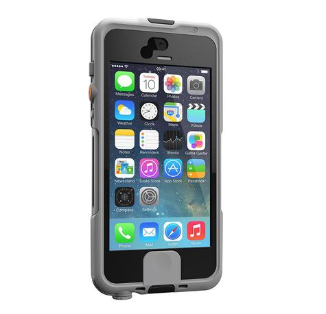 Lifedge Waterproof Case for iPhone 5 & 5s Protect Water Dust Impact Arcus-Black Thumbnail 2