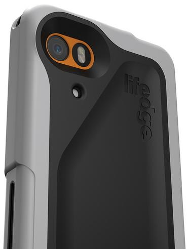 Lifedge Waterproof Case for iPhone 5 & 5s Protect Water Dust Impact Arcus-Black Thumbnail 3