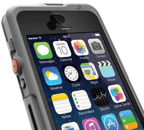 Lifedge Waterproof Case for iPhone 5 & 5s Protect Water Dust Impact Arcus-Black Thumbnail 4
