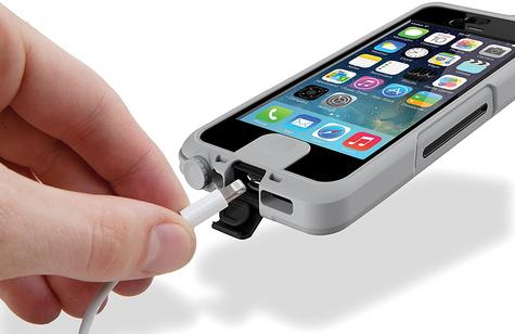 Lifedge Waterproof Case for iPhone 5 & 5s Protect Water Dust Impact Arcus-Black Thumbnail 5