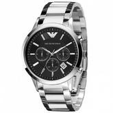 Emporio Armani Sportivo Gent's Stainless Steel Chronograph Watch AR0389