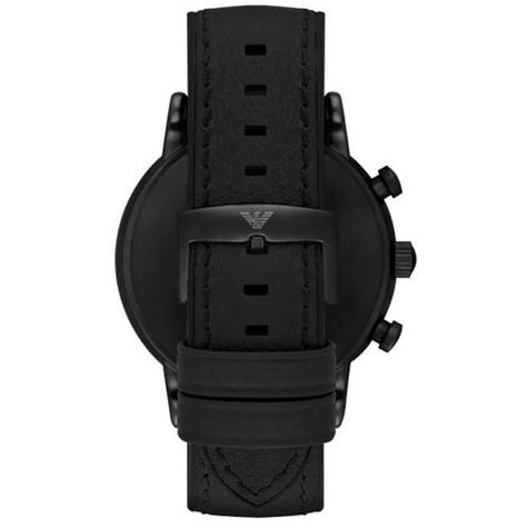 Emporio Armani Luigi Chronograph Black Dial Strap Men's Formal Watch - AR1970 Thumbnail 7