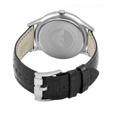 Emporio Armani Renato Men's Scratch Resistant Analog Black Dial Watch WR- AR2411 Thumbnail 3