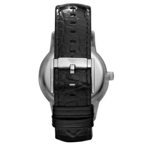 Emporio Armani Renato Men's Scratch Resistant Analog Black Dial Watch WR- AR2411 Thumbnail 4