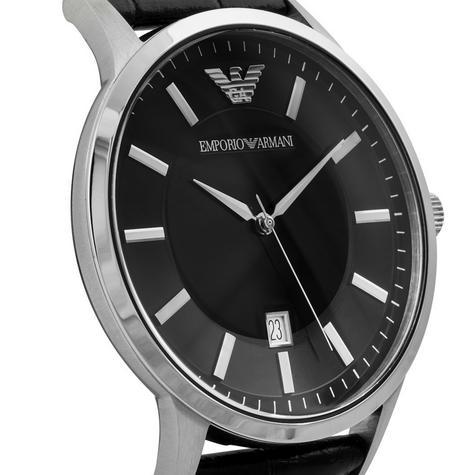 Emporio Armani Renato Men's Scratch Resistant Analog Black Dial Watch WR- AR2411 Thumbnail 6
