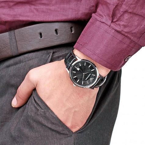Emporio Armani Renato Men's Scratch Resistant Analog Black Dial Watch WR- AR2411 Thumbnail 7