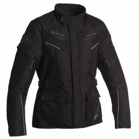 New Bering Exodus MotorBike/Cycle Jacket|Textile|Waterproof|Regular Fit|CE Approved|Black Thumbnail 2