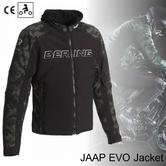 New Bering Jaap Evo Motorcycle/Bike Men Textile Jacket|Waterproof|CE App.|Black/Camo|All Sizes