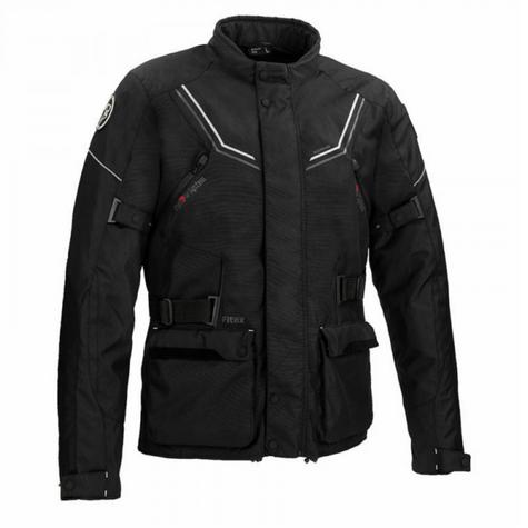 Bering Renegade Motorcycle/Bike Textile Jacket-BLack/Grey|CE Approved|Waterproof Thumbnail 2