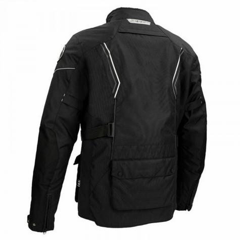Bering Renegade Motorcycle/Bike Textile Jacket-BLack/Grey|CE Approved|Waterproof Thumbnail 3