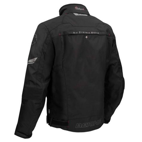 New Bering Zodd Motorcycle/Bike Men Textile Jacket|Waterproof|CE Approved|Dual-Use|Black Thumbnail 3