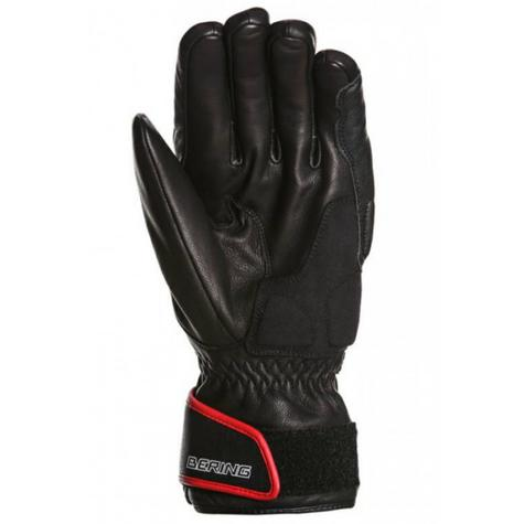 Bering Atlantis Motorcycle/Bike Winter Leather Gloves - Black|Waterproof|CE|For Men Thumbnail 3