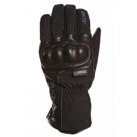 Bering Yucca Goretex Motorcycle/Bike Winter Leather Gloves-Black|Watreproof|CE|For Men Thumbnail 2