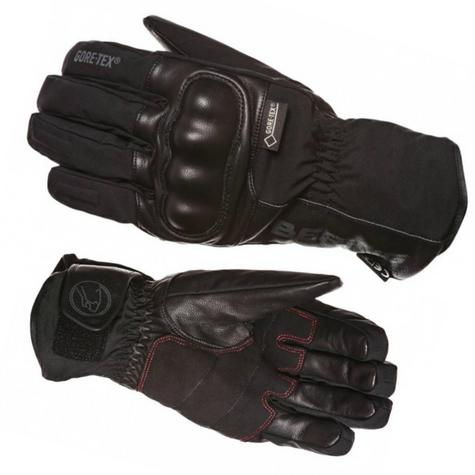 Bering Yucca Goretex Motorcycle/Bike Winter Leather Gloves-Black|Watreproof|CE|For Men Thumbnail 3