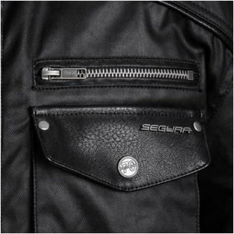 Segura Cheyenne Textile Men Jacket Waterproof Breathable Mesh CE Approved Black Thumbnail 5