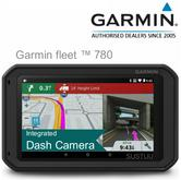 "Garmin Fleet 780 EU?7"" Truck GPS-SatNav + Dashcam?Preloaded+Lifetime Europe Maps"