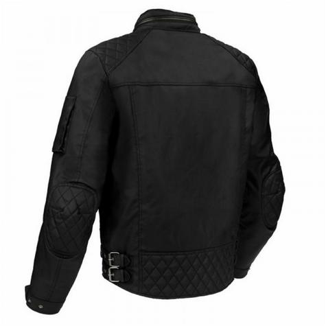 New Segura Jericho Motorcycle/Bike Men Textile Jacket|CE Approved|Waterproof & Breathable|Black Thumbnail 3