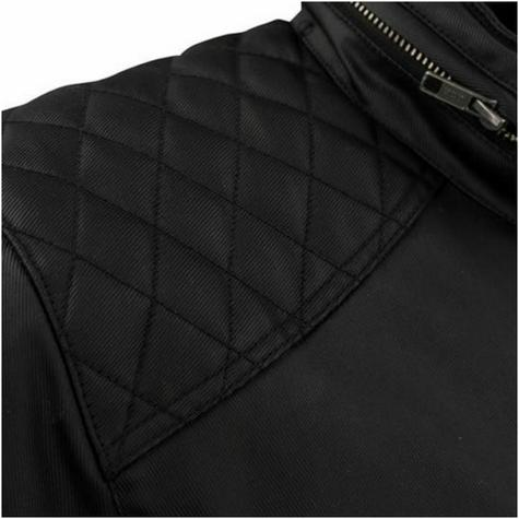 New Segura Jericho Motorcycle/Bike Men Textile Jacket|CE Approved|Waterproof & Breathable|Black Thumbnail 4