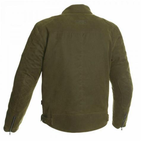 Segura Maddock Motorcycle/Bike Men Textile Jacket|CE Approved|Waterproof & Breathable|kaki|EU48/UK38/S Thumbnail 3