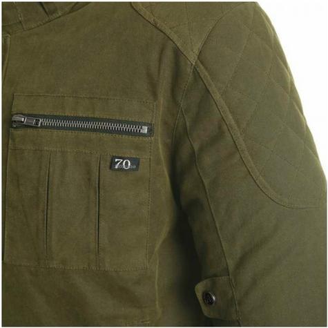 Segura Maddock Motorcycle/Bike Men Textile Jacket|CE Approved|Waterproof & Breathable|kaki|EU48/UK38/S Thumbnail 5