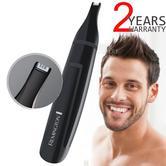 Remington NE3150 Nose-Nasal-Ear-Eyebrow-Hair Clipper Trimmer | For Men | Washable