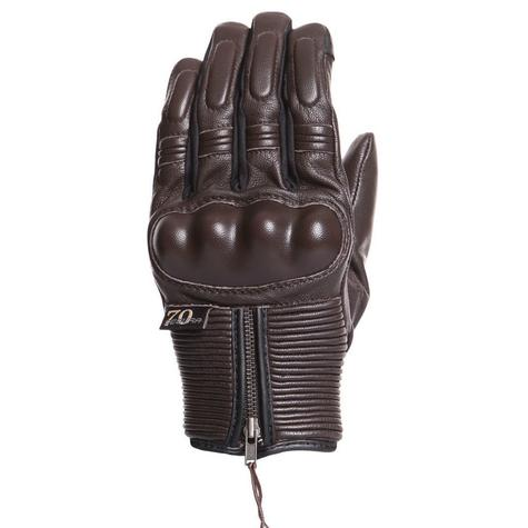 Segura Connor Motorcycle/Bike Mid-Seasons Textile Glove|Soft|Watreproof & Breathable|CE|Brown Thumbnail 2