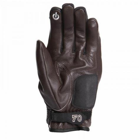 Segura Connor Motorcycle/Bike Mid-Seasons Textile Glove|Soft|Watreproof & Breathable|CE|Brown Thumbnail 3