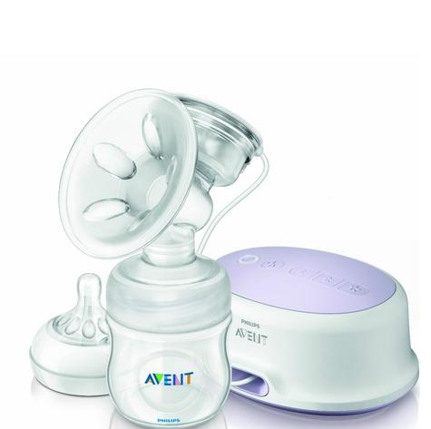 Philips Avent SCF332 Single Electric Breast Pump With Natural Shaped Soft Nipple Thumbnail 2