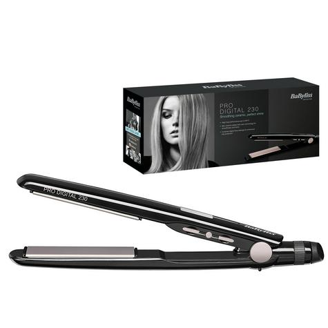 Babyliss 2079U Pro Digital Hair Straightener|Curl/Straight|5 Heat Setting|230°C Thumbnail 1