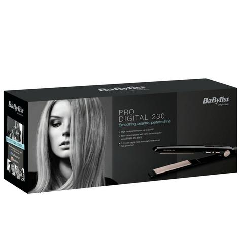 Babyliss 2079U Pro Digital Hair Straightener|Curl/Straight|5 Heat Setting|230°C Thumbnail 5