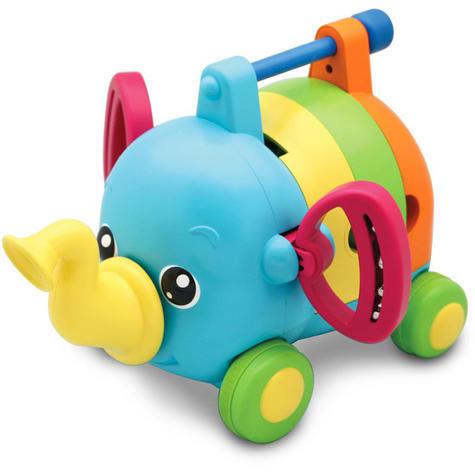 TOMY E72377 Jumbo Jamboree Musical Elephant Sound Puzzle Infant 12+ Kid Toddler Thumbnail 2