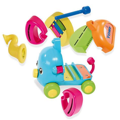TOMY E72377 Jumbo Jamboree Musical Elephant Sound Puzzle Infant 12+ Kid Toddler Thumbnail 3